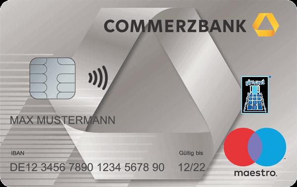 Debitkarte Commerzbank