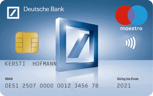 Girocard Deutsche Bank